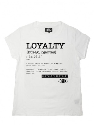 LOYALTY WOMENS T-SHIRT